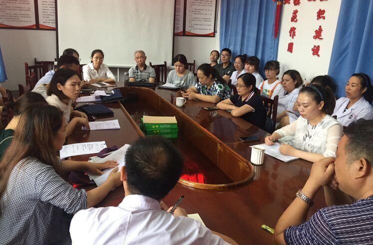 金堂县开展2019年基本公共卫生服务妇幼健康管理绩效考核